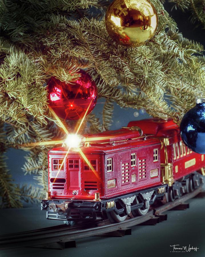 Thomas The Train Christmas Tree.Christmas Train 1993