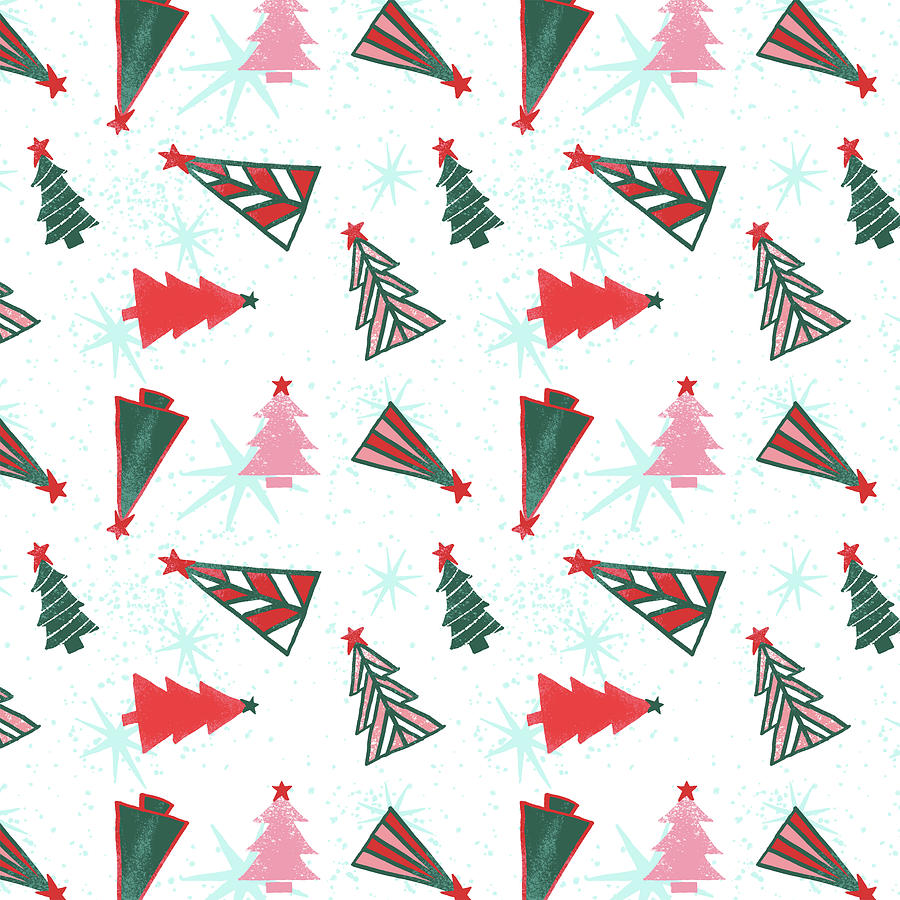 Christmas Tree Pattern by Jen Montgomery
