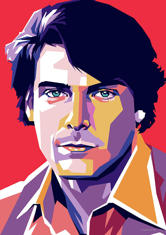 Christopher Digital Art - Christopher Reeve by Stars on Art