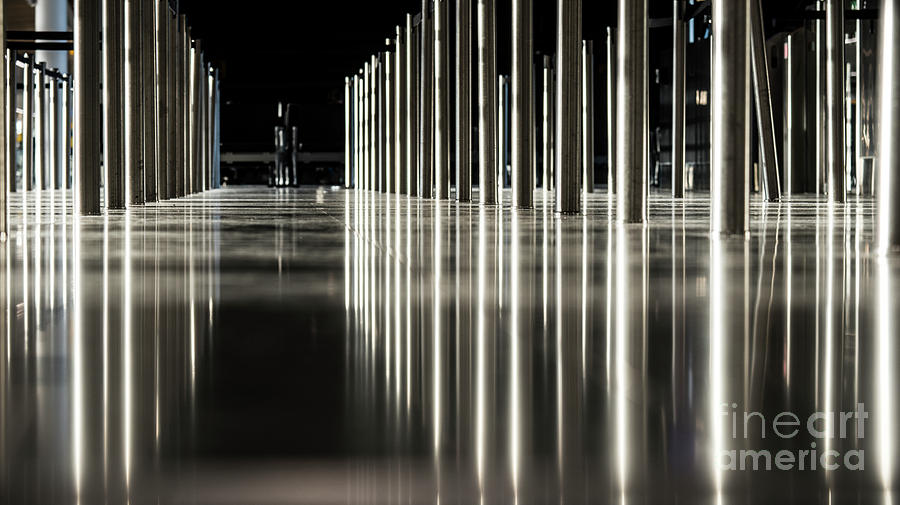 Chrome Lines  by Steve Somerville