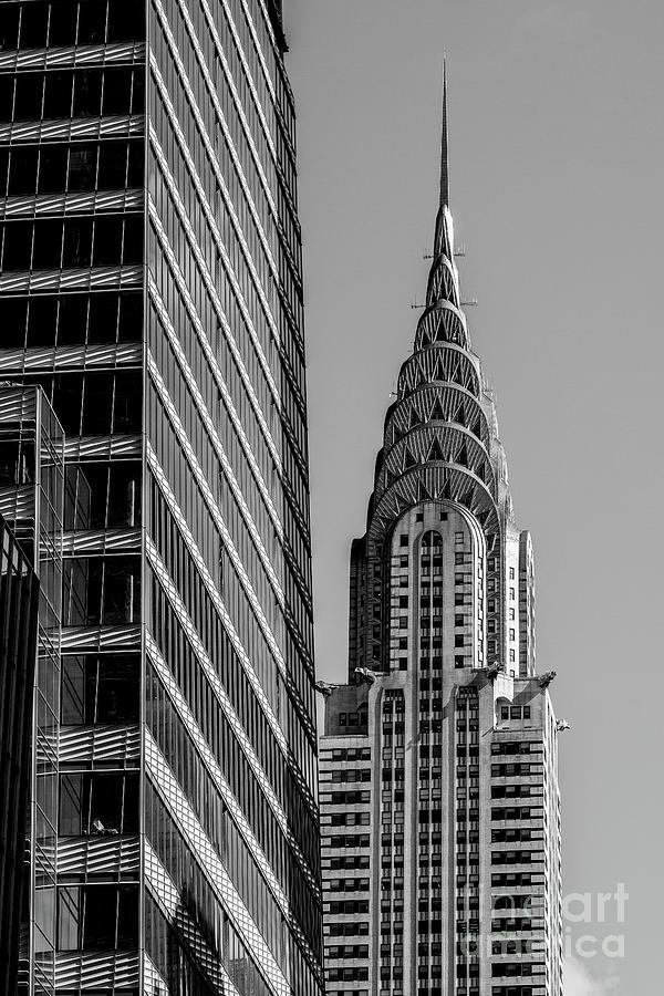 Chrysler Building and One Vanderbilt skyscraper by Edi Chen