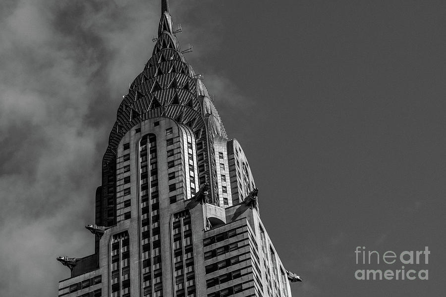 Chrysler Building in Midtown Manhattan New York by Edi Chen