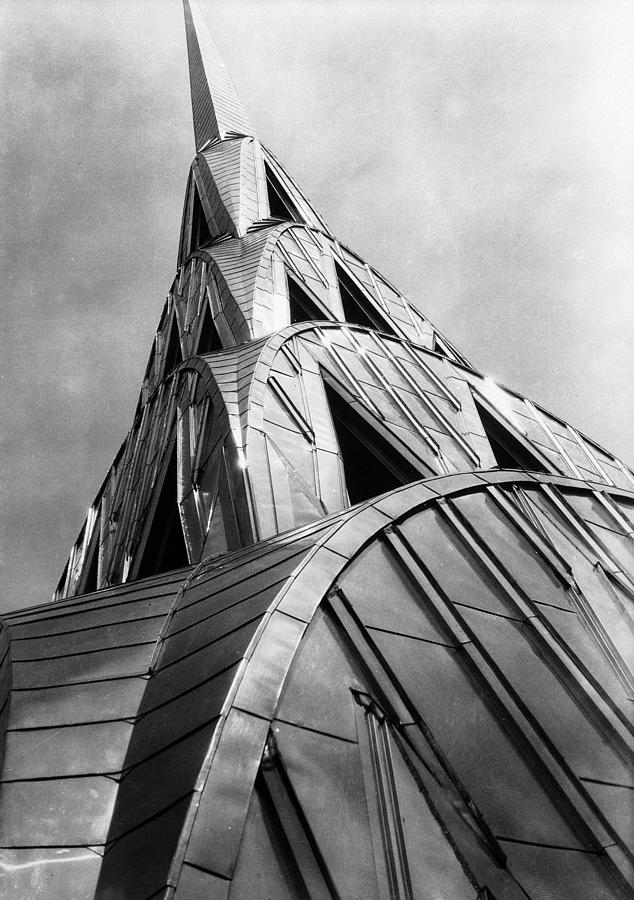 Chrysler Building Spire Photograph by Margaret Bourke-white
