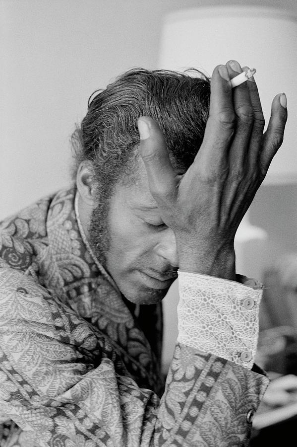 Chuck Berry Photograph by Michael Ochs Archives