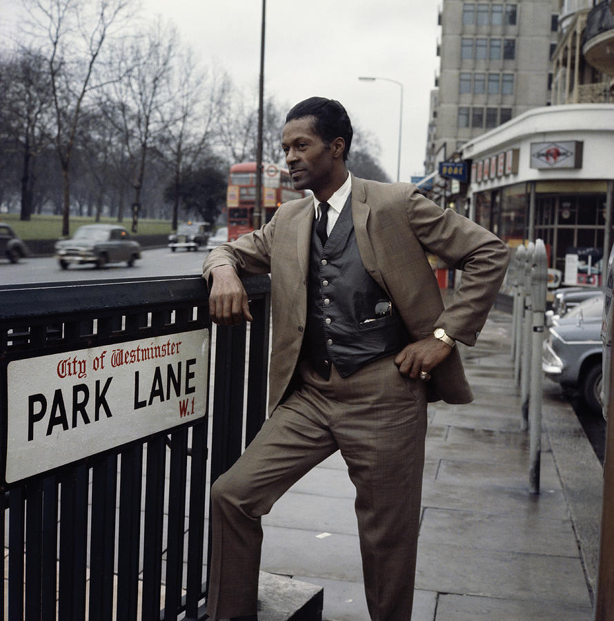 Chuck Berry On Park Lane Photograph by David Redfern