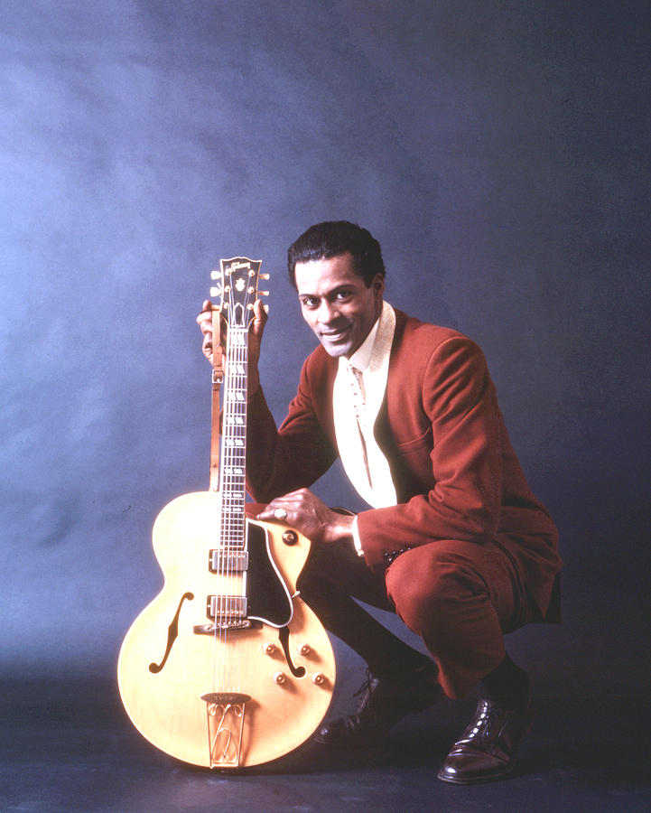 Chuck Berry Portrait In Chicago Photograph by Michael Ochs Archives