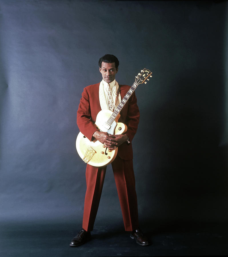 Chuck Berry Portrait Session Photograph by Michael Ochs Archives