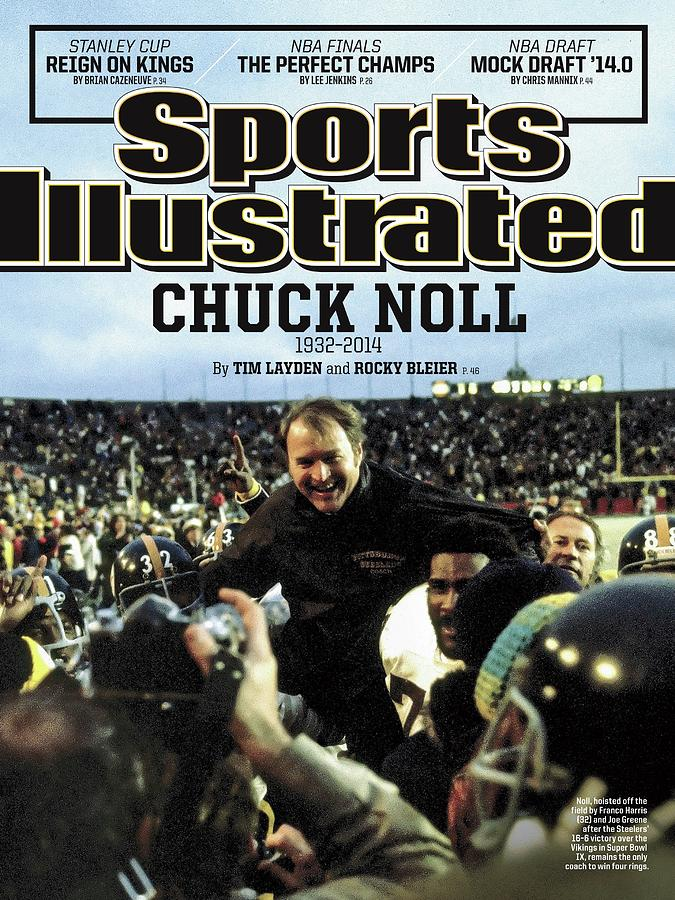 Chuck Noll 1932 - 2014 Sports Illustrated Cover Photograph by Sports Illustrated