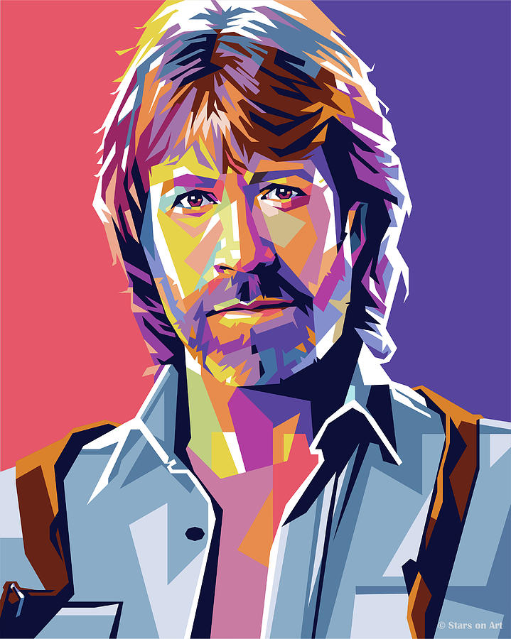 Chuck Norris Painting