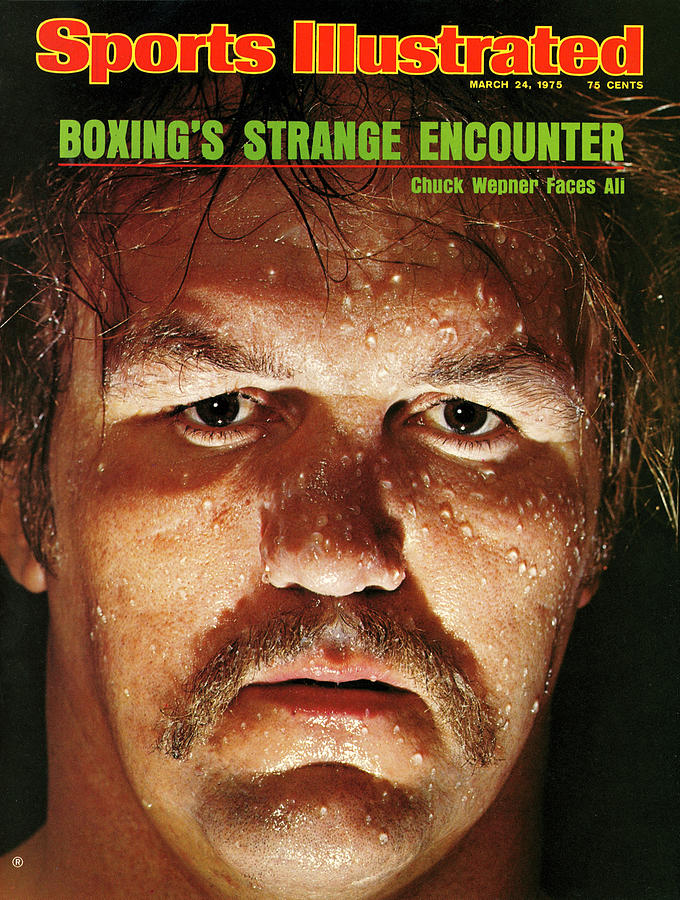 Chuck Wepner, Heavyweight Boxing Sports Illustrated Cover Photograph by Sports Illustrated