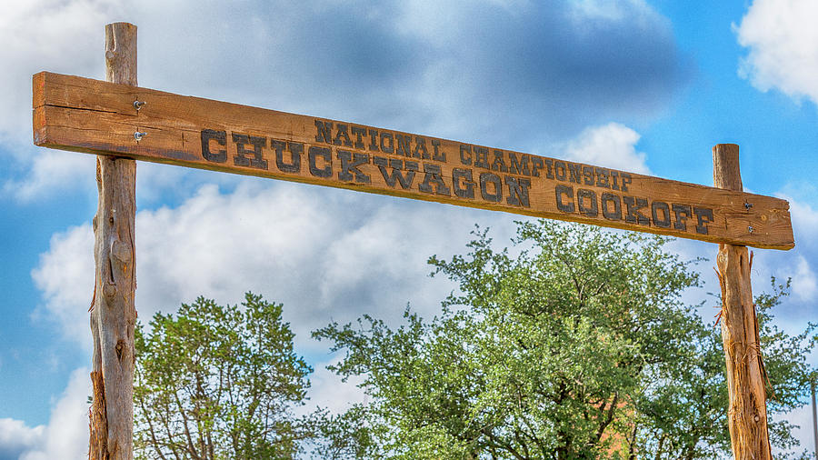 Lubbock Photograph - Chuckwagon Cookoff by Stephen Stookey