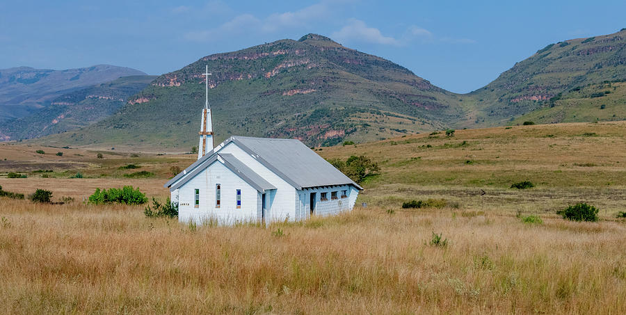 Church Along the Road by Marcy Wielfaert
