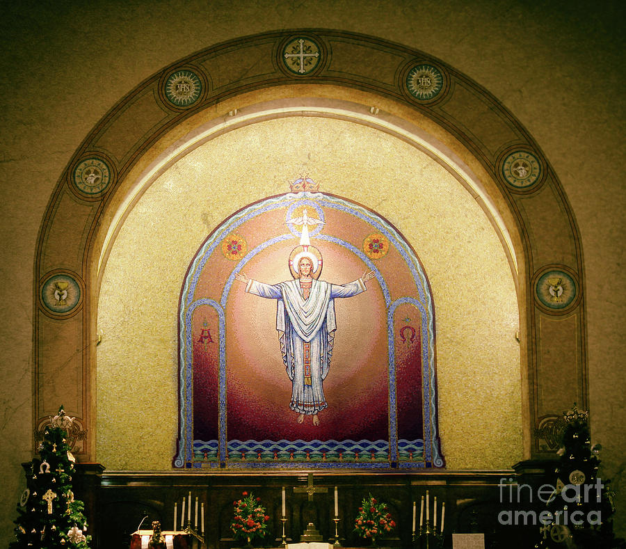 Jesus Photograph - Church Creation  by Steven Digman