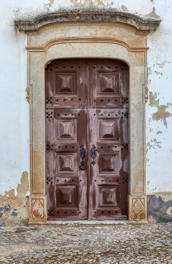 Church Door of Obidos by David Letts