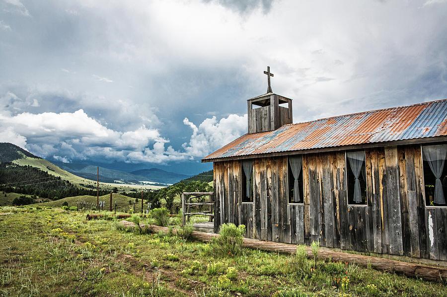 Church Photograph - Church In Elizabethtown by Candy Brenton