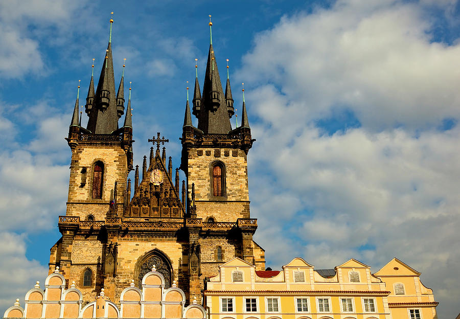 Church Of Our Lady Before Týn Photograph by Property Of Olga Ressem.