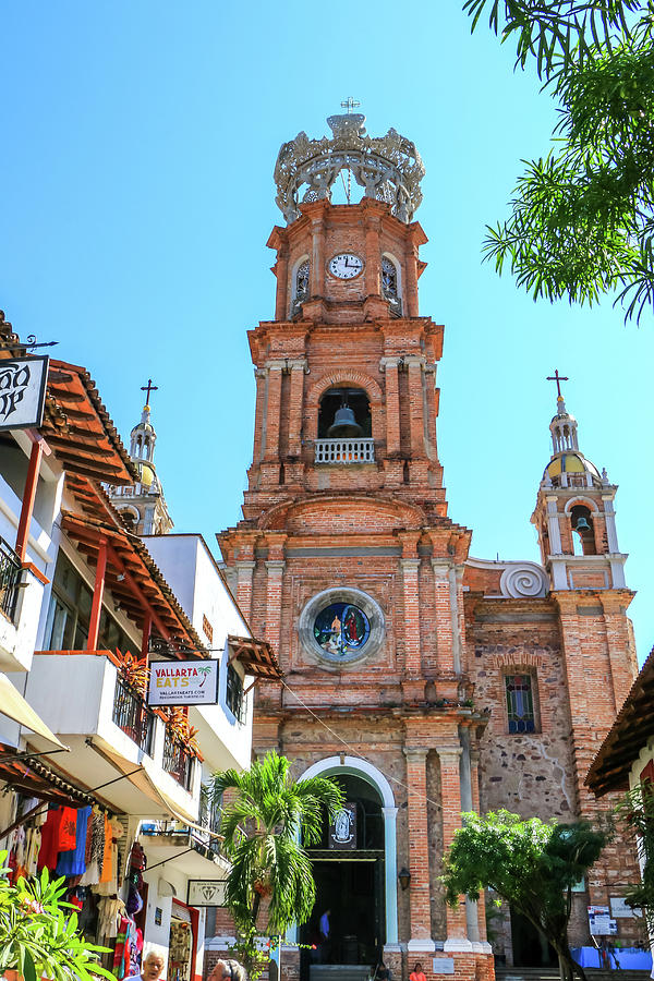 Church of Our Lady of Guadalupe, Puerto Vallarta by Dawn Richards