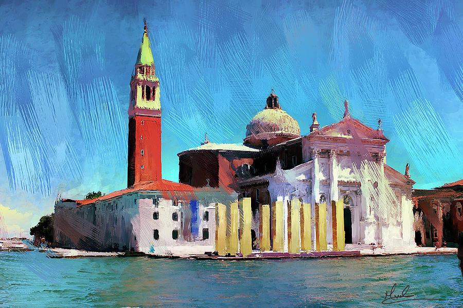 Church of San Giorgio Maggiore by GW Mireles