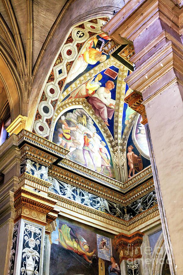 Church of the Santissima Trinita dei Monti Angles in Rome by John Rizzuto
