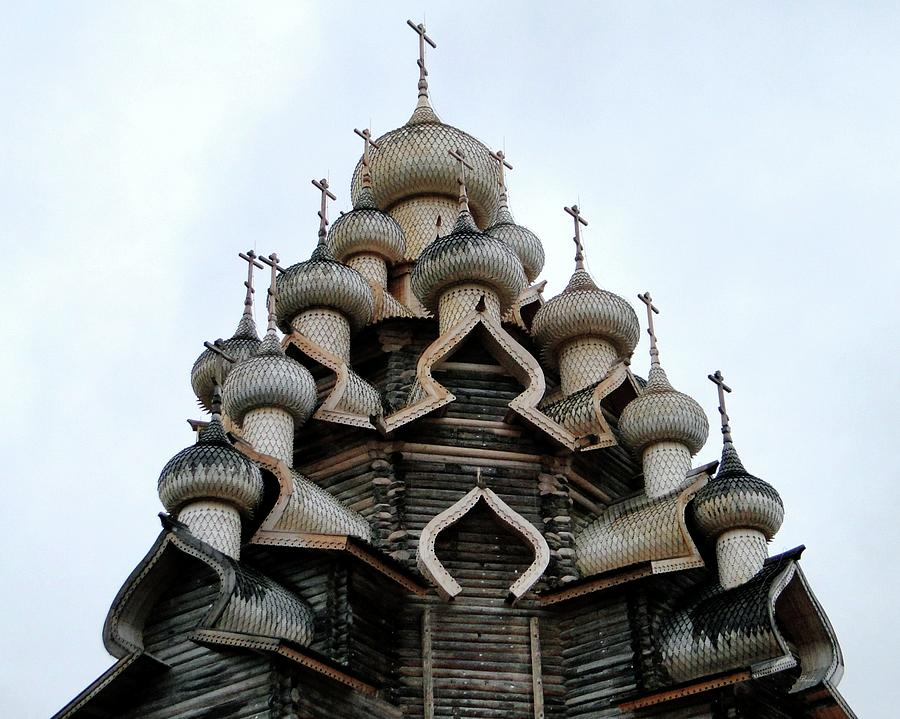 Church of the Transfiguration Wooden Domes by Barbie Corbett-Newmin