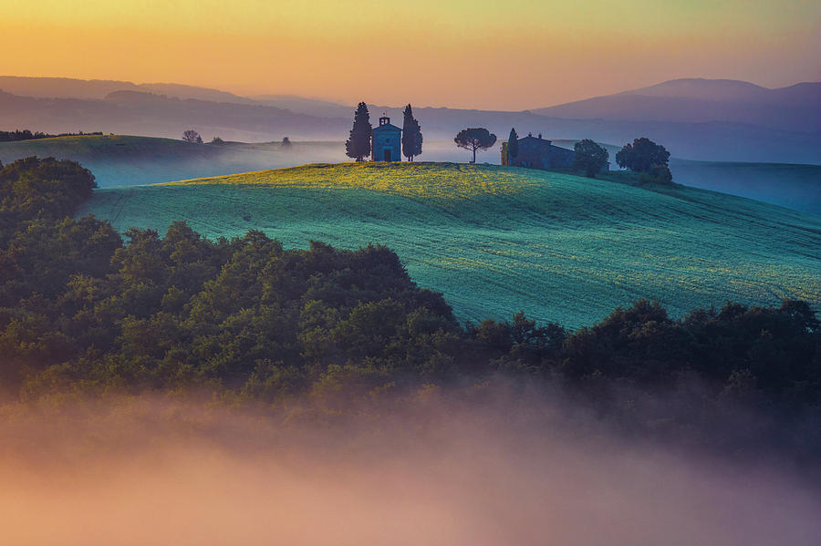 Church On the Hill by Evgeni Dinev