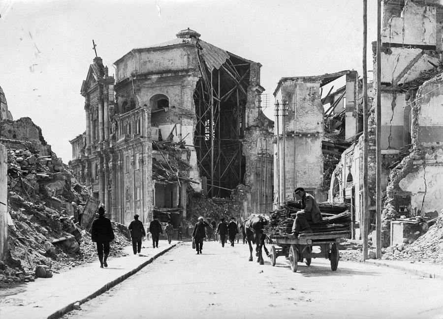Church Ruins Photograph by Hulton Archive