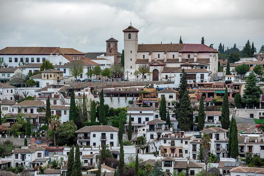 Church San Nicalas Albaicin, Granada Photograph by Izzet Keribar