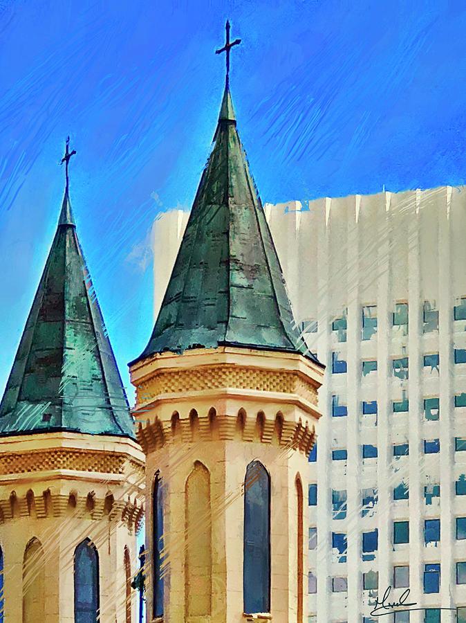 Church Spires by GW Mireles