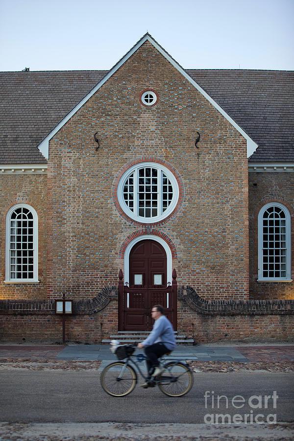 Colonial Williamsburg Photograph - Church Street by Lara Morrison