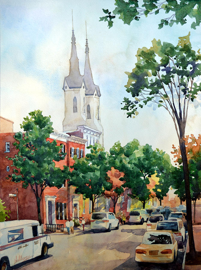 Church Street Spires by Mick Williams