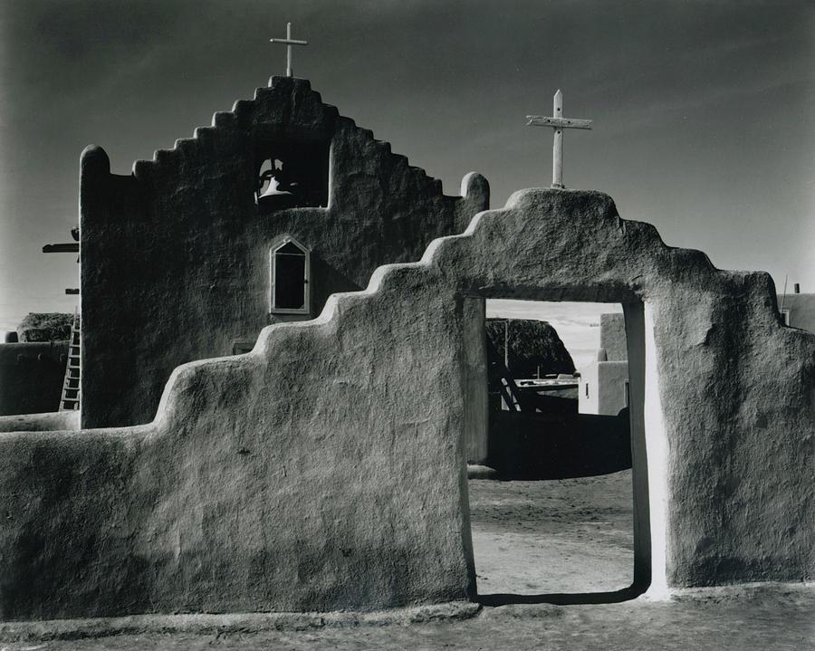 Church, Taos Pueblo, New Mexico, 1941 Photograph by Archive Photos