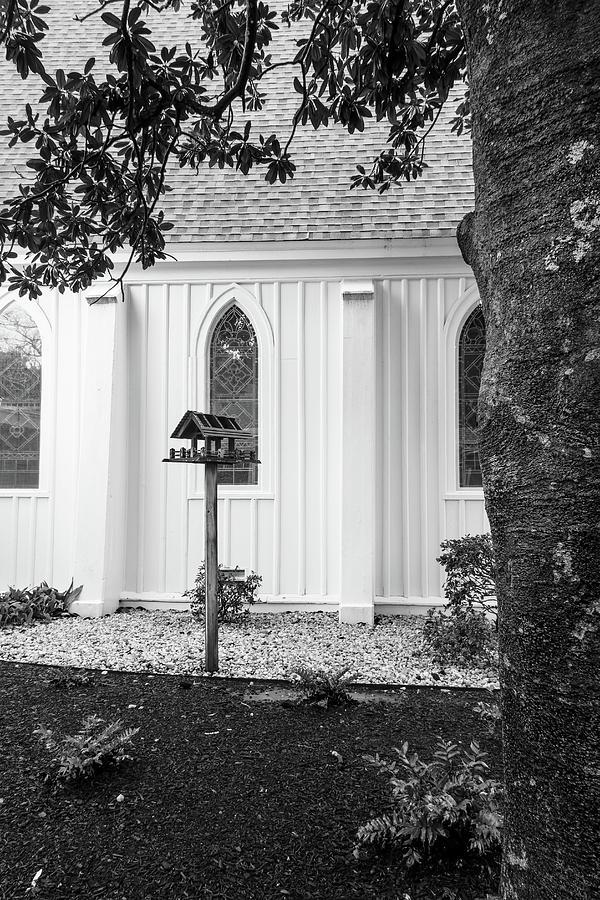 church with bird house by Rudy Umans