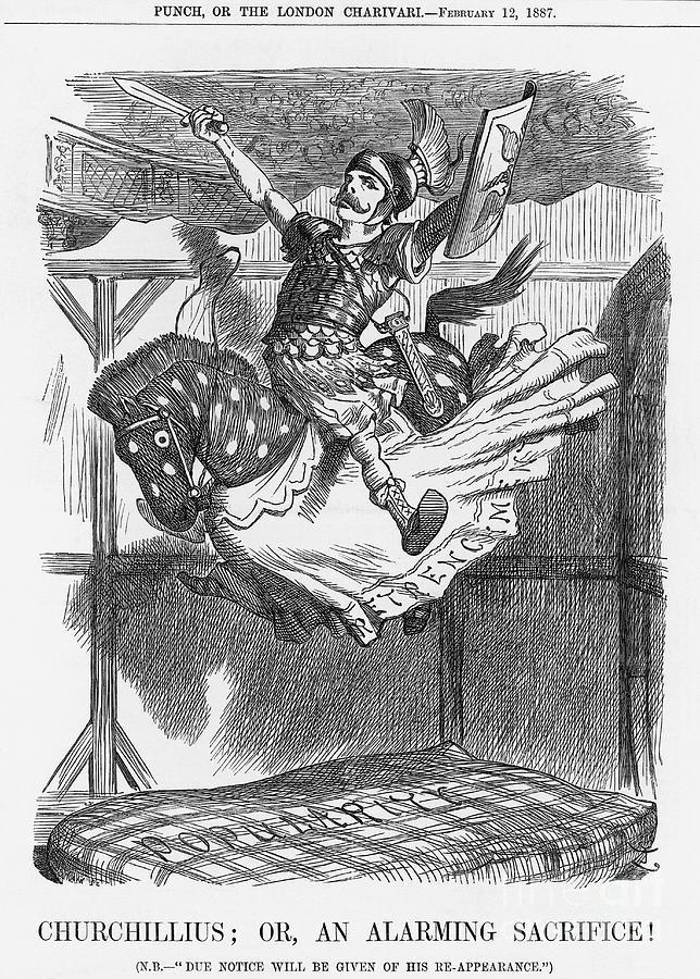 Churchillius Or, An Alarming Sacrifice Drawing by Print Collector