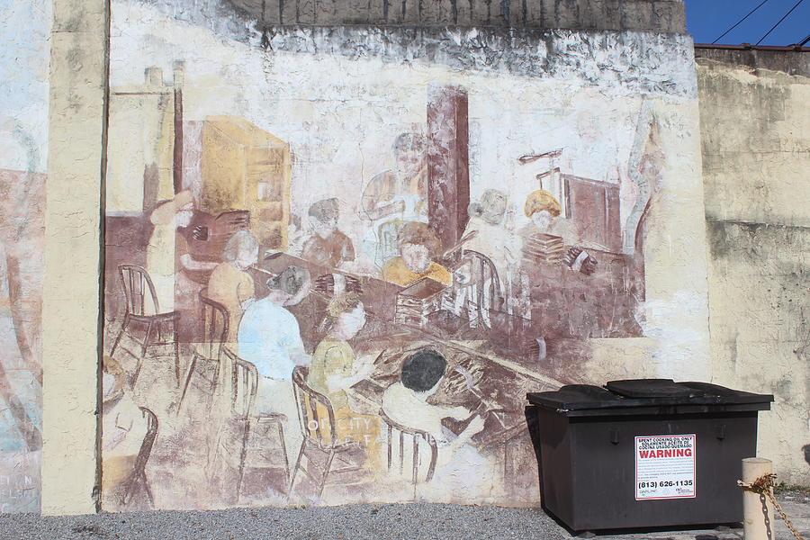 Cigar Factory Mural, Ybor City by Callen Harty