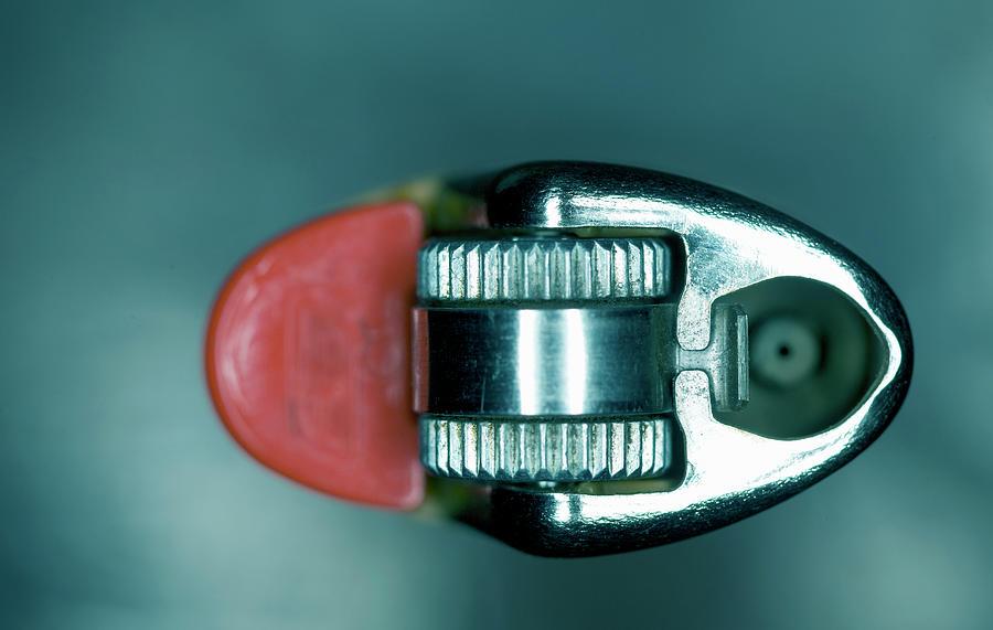 Cigarette Lighter, Close-up Photograph by Michael Duva
