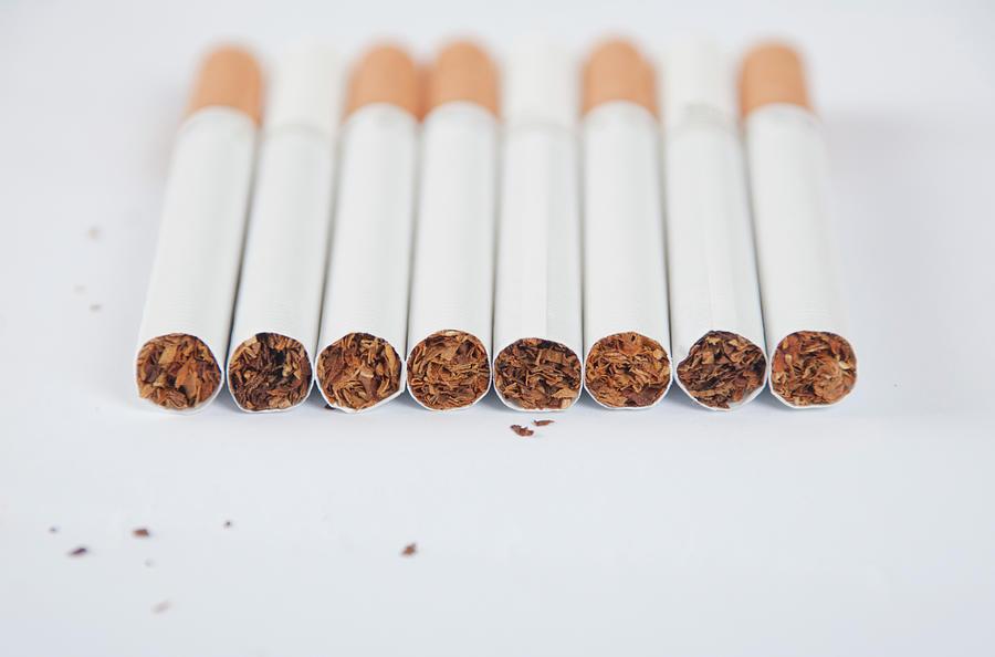 Cigarette Photograph by Shui Ta Shan