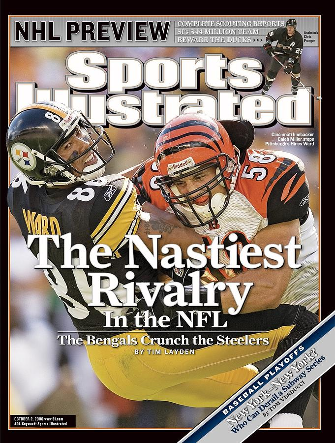 Cincinnati Bengals Caleb Miller... Sports Illustrated Cover Photograph by Sports Illustrated