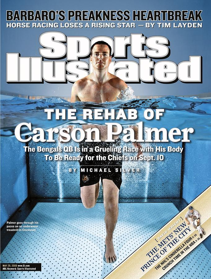Cincinnati Bengals Qb Carson Palmer Sports Illustrated Cover Photograph by Sports Illustrated