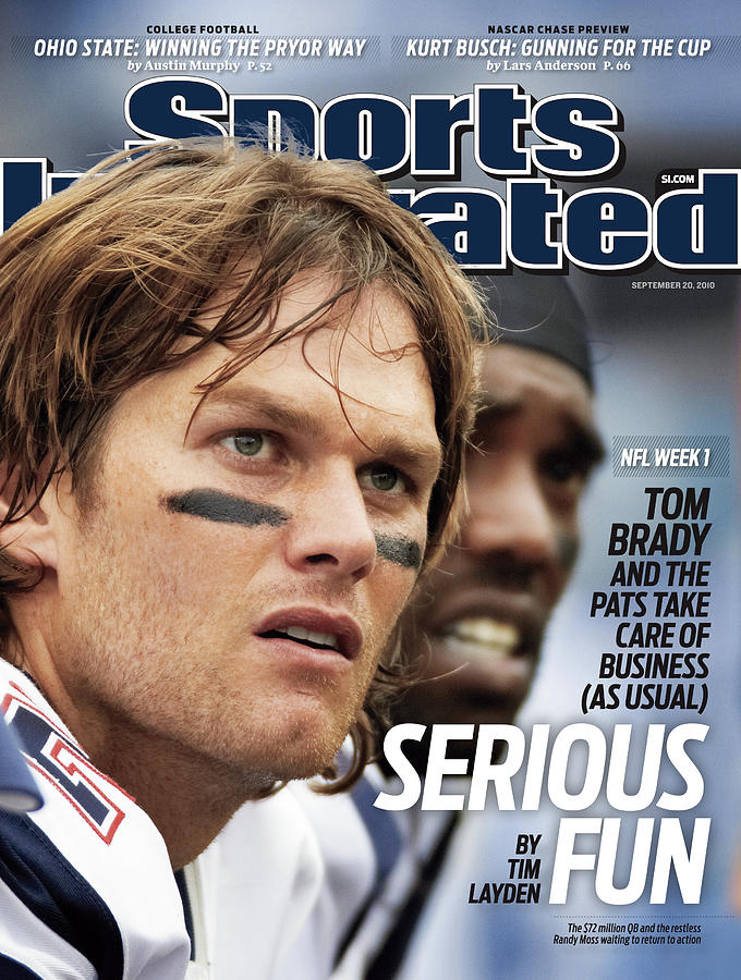 Cincinnati Bengals V New England Patriots Sports Illustrated Cover Photograph by Sports Illustrated