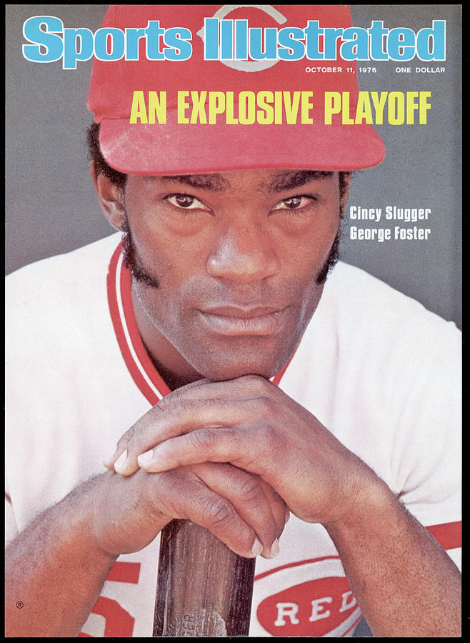 Cincinnati Reds George Foster Sports Illustrated Cover Photograph by Sports Illustrated