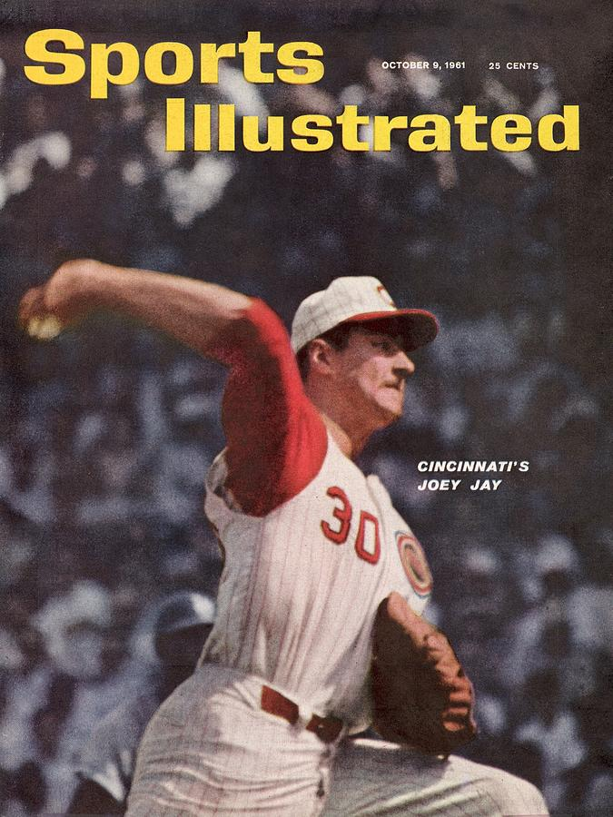 Cincinnati Reds Joey Jay... Sports Illustrated Cover Photograph by Sports Illustrated