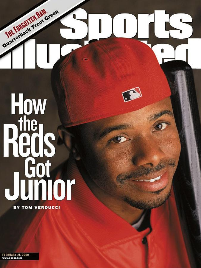 Cincinnati Reds Ken Griffey Jr Sports Illustrated Cover Photograph by Sports Illustrated