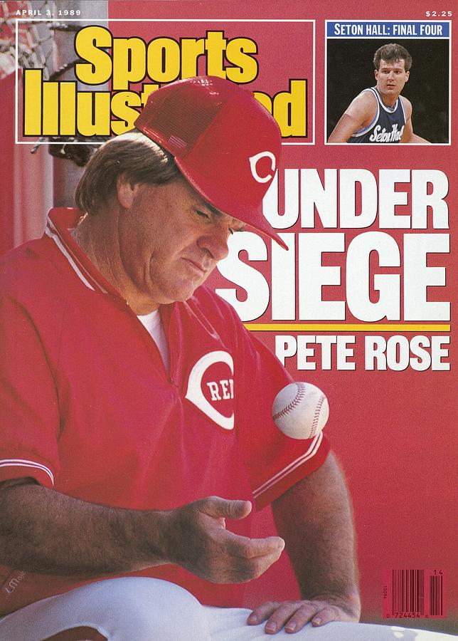 Cincinnati Reds Manager Pete Rose Sports Illustrated Cover Photograph by Sports Illustrated