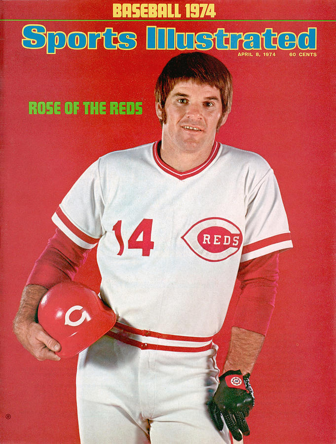 Cincinnati Reds Pete Rose Sports Illustrated Cover Photograph by Sports Illustrated