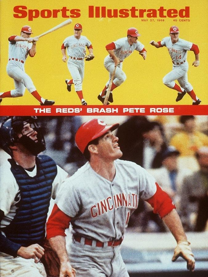Cincinnati Reds Pete Rose... Sports Illustrated Cover Photograph by Sports Illustrated