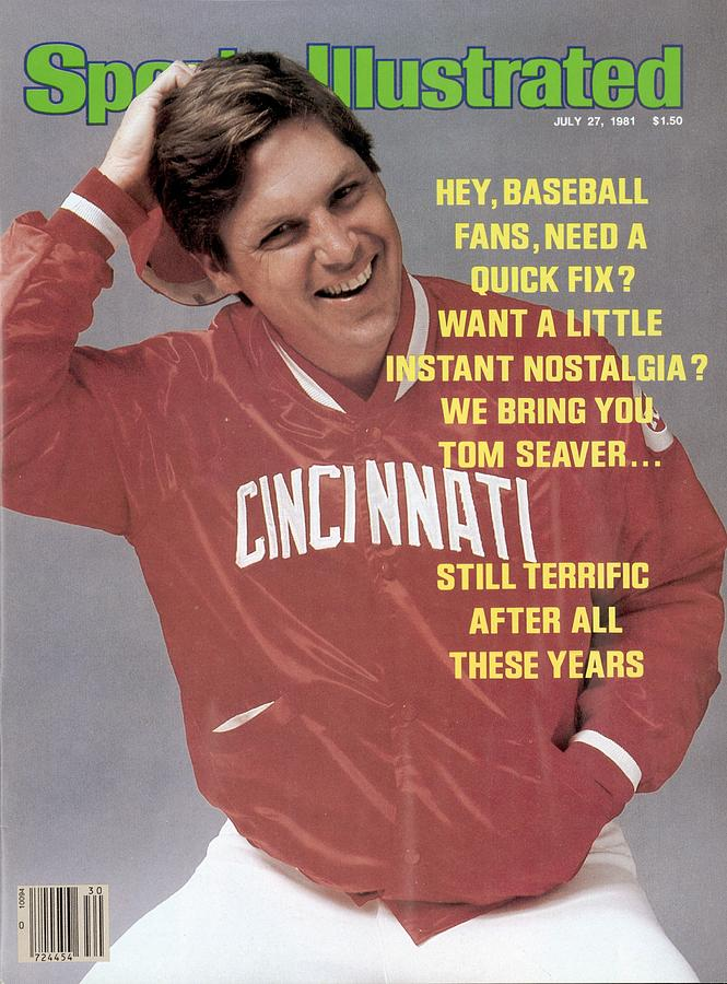 Cincinnati Reds Tom Seaver Sports Illustrated Cover Photograph by Sports Illustrated