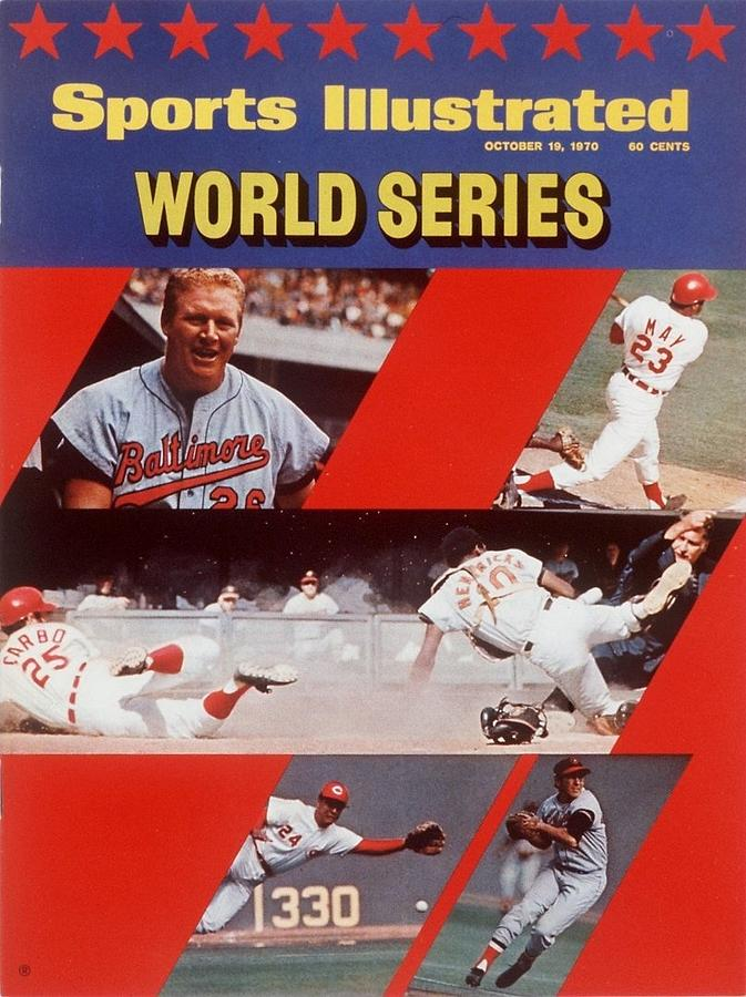 Cincinnati Reds Vs Baltimore Orioles, 1970 World Series Sports Illustrated Cover Photograph by Sports Illustrated