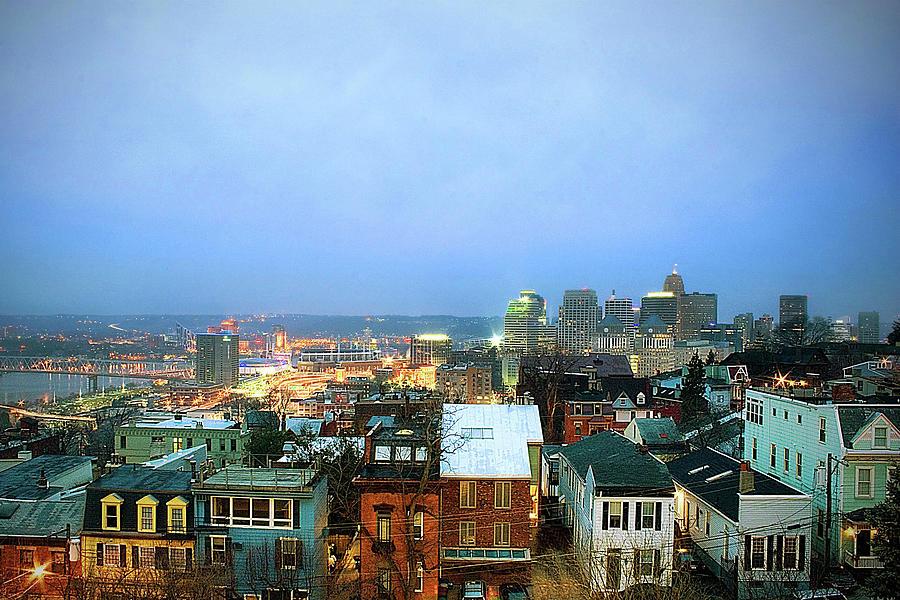 Cincinnati Skyline Photograph by Keith R. Allen