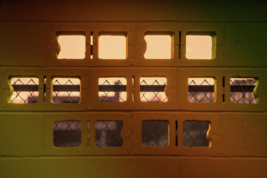 Cinderblock Sunset View by Jason Fink