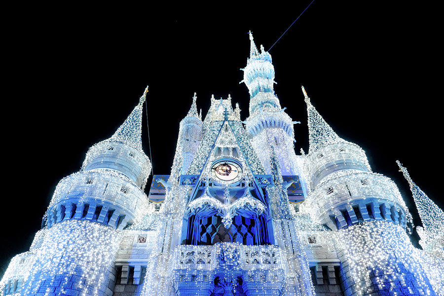 Cinderella Castle Christmas.Cinderella Castle Christmas By Seth Willard